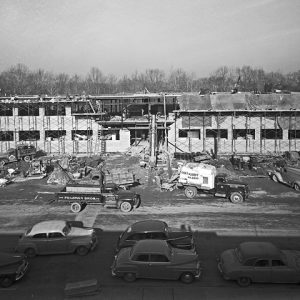 construction of the Propulsion Systems Laboratory