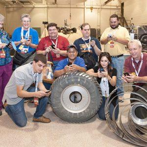 Curiosity Rover Landing Social Event
