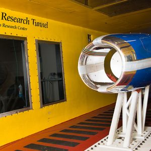 Test setup Icing Research Tunnel