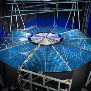 ATK Solar Array Deployment Test