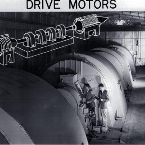 Drive motors.