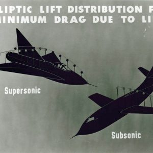 Chart with aircraft illustration.