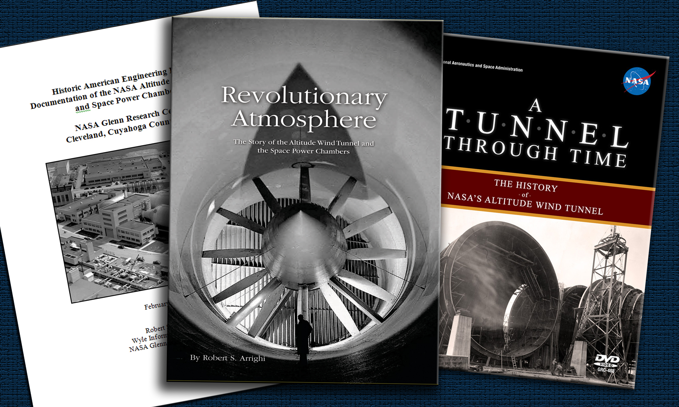 Covers of AWT historical publications