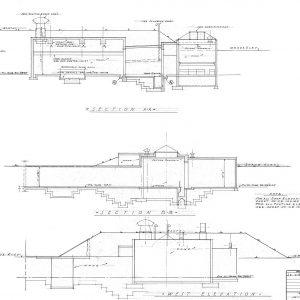 Cyclotron elevation drawing.