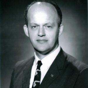 Portrait of Jim Blue.