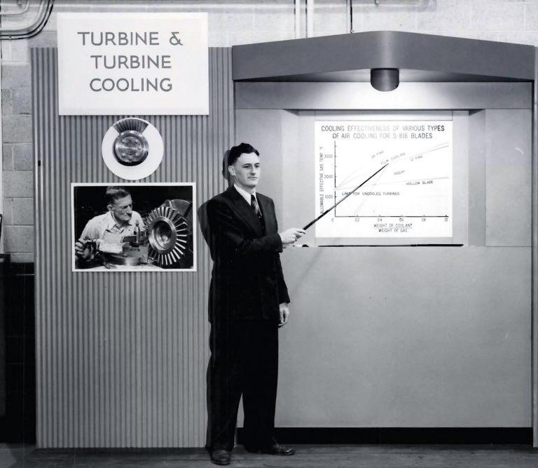 Jack Esgar discusses turbine cooling research
