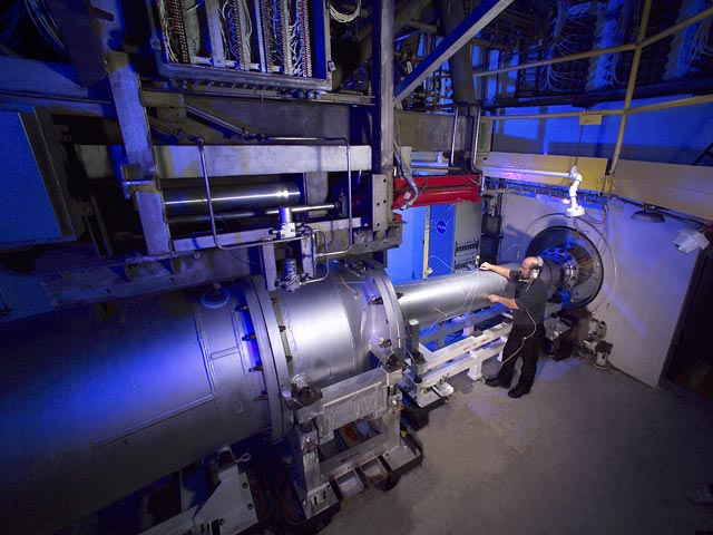 hypersonic tunnel facility nasa glenn research center