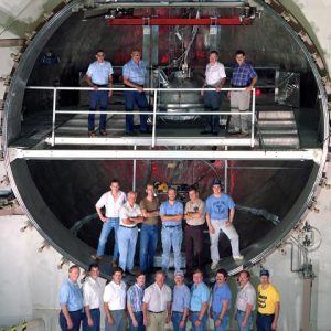 test chamber at the Combined Effects Chamber (CEC).