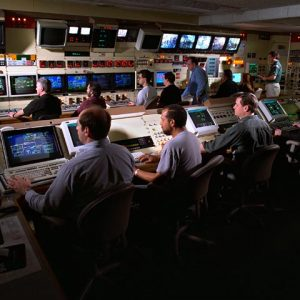 control room of the Propulsion Systems Laboratory