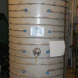 Bare 20K – 90K Calorimeter Vacuum Vessel