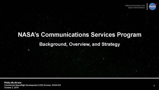 CSP KaBand Presentation