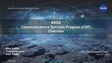 NASA Communications Services Program (CSP) Overview_6.29.2020