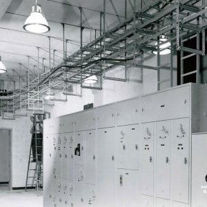Electrical panels.