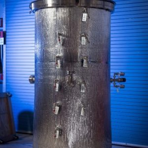 20K – 90K SMiRF Upper Level Calorimeter Test Bed Vacuum Chamber.