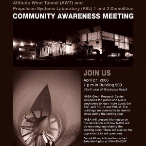 Community Awareness Meeting Flyer