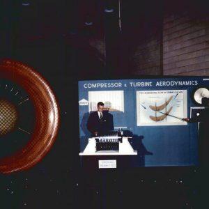 Engine and exhibit.
