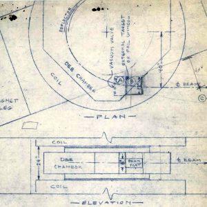 Blueprint drawing.