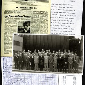 Historic photographs, reports, and newsletters regarding the AWT