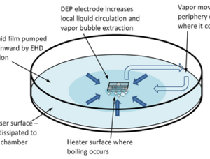 EHD Test Chamber flow