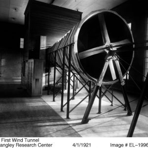 Small wind tunnel.