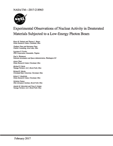 Experimental Observations of Nuclear Activity in Deuterated Materials Subjected to a Low-Energy Photon Beam