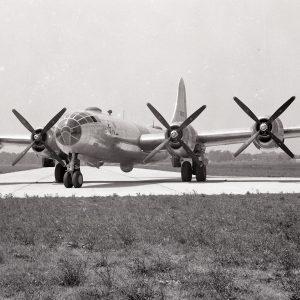 B-29 at NACA runway