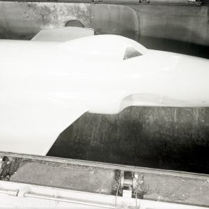 Lockheed YP-80 in Altitude Wind Tunnel