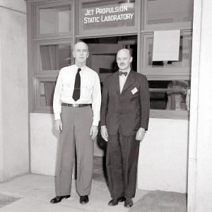 Ernest King and Jerome  Hunsaker.