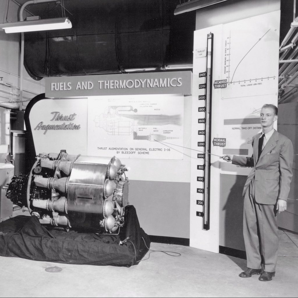 Bruce Lundin's discussion on augmentation of jet engines