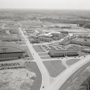 Aerial of the laboratory.