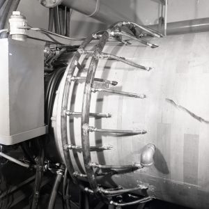 GE TG-180 with water injectors installed in Cell 4 of the JPSL