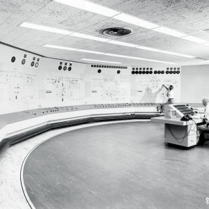 Central Control Room in Engine Research Bldg.