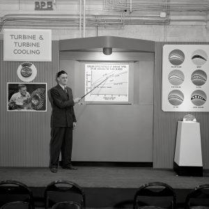 Turbine exhibit.