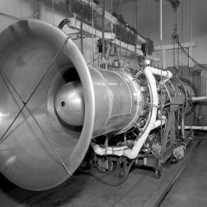 General Electric TG-190 engine installed in Cell 6