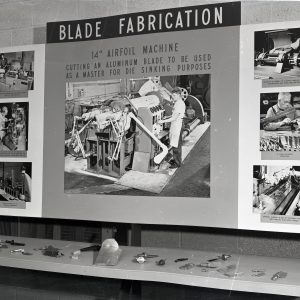 Fabrication display.
