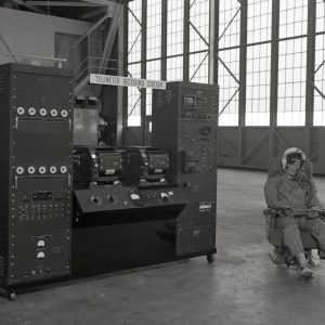 Display in hangar.