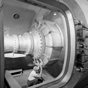 Upstream section of PSL test chamber