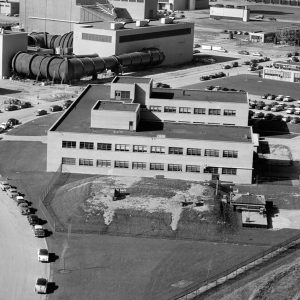 Aerial of Cyclotron site.