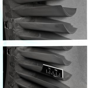 Closeup of cermet turbine blades for a General Electric TG-190 engine.