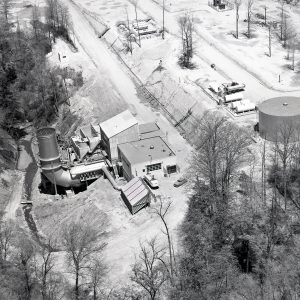 Aerial view of RETF