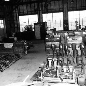 Equipment in warehouse