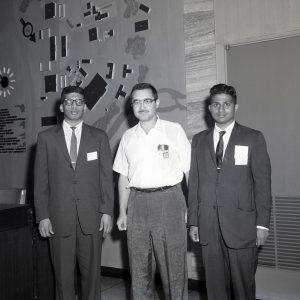 VISIT BY LAKSHAMA I SRINVASAN AND V N RAYUDU GOGINENI INDIA TEACHERS OF ENGINERING CURRENTLY CANDIDATES FOR MS DEGREE AT CORNELL