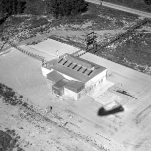 Aerial view of C Site