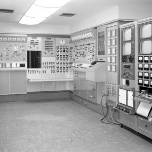 Control room in the H Control Building