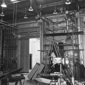 Interior of F Site in the 1960s.