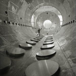 Interior of EPL vacuum tank.