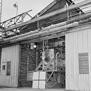 Rocket engine installed inside J-1