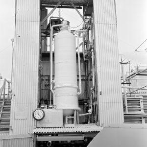 Nitrogen tank in J-4 stand