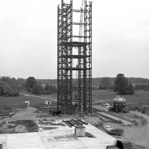 Steel framework for B-3