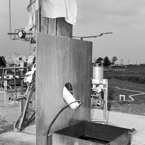 Spill rig near J-5 site